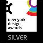 New York design award silver